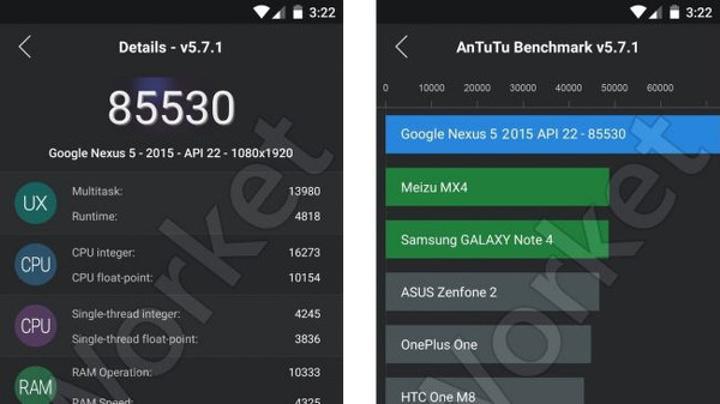 Yeni Nexus 5 testlerde ortaya çıktı
