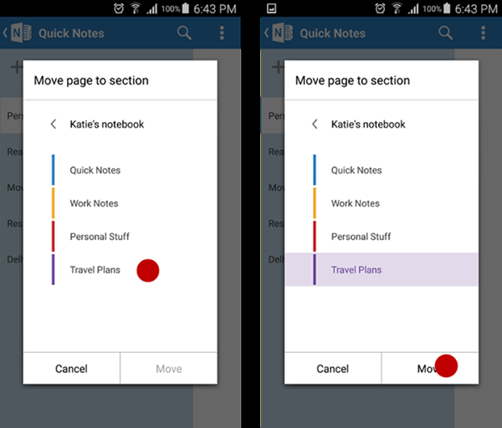 iOS ve Android için Microsoft OneNote güncellendi