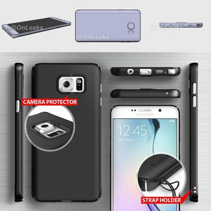 Samsung Galaxy Note 5'ten detaylı görseller gelmeye başladı
