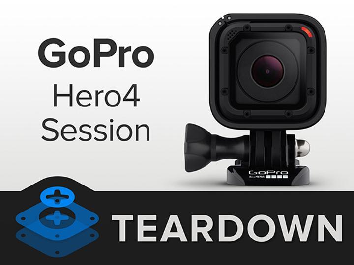 iFixit'in yeni konuğu aksiyon kamerası pazarının ufak üyesi GoPro Session oldu