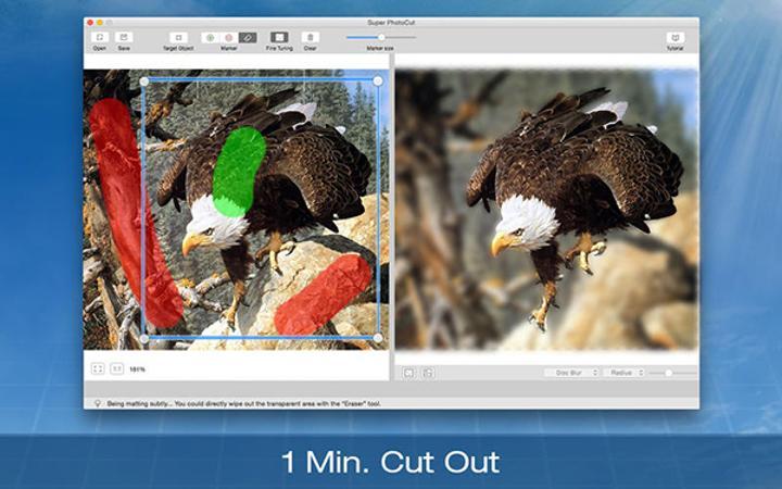Mac uyumlu Super PhotoCut ücretsiz yapıldı