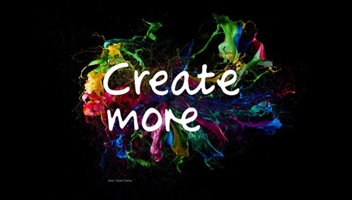 Wacom'dan ilk küresel tanıtım kampanyası: Create More