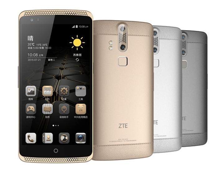ZTE'den üst seviye Axon serisi akıllı telefonlar
