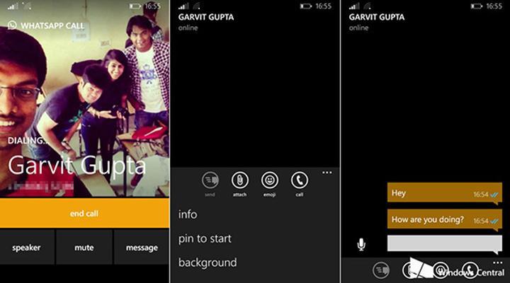 Windows Phone için WhatsApp Beta, yeni sürümüyle sesli görüşmeden daha az veri harcıyor