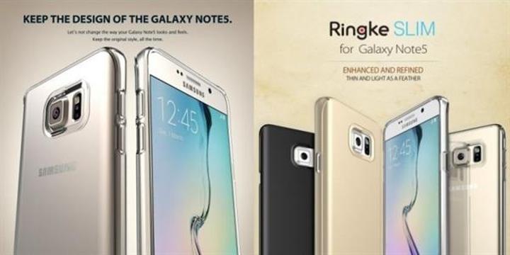 Galaxy Note 5 ile kavis arka yüzeye taşınıyor