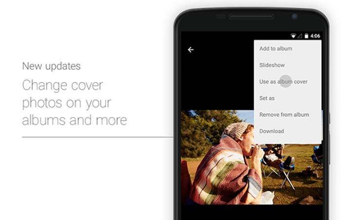 Android için Google Photos güncellendi