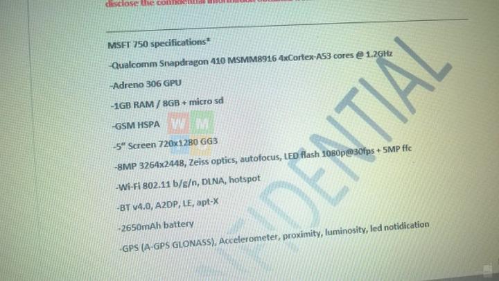Alt seviye Microsoft Lumia 550, 750 ve 850 modelleri iptal edildi