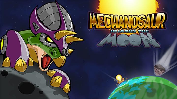 Mechanosaur Hijacks the Moon, önümüzdeki hafta yayımlanacak