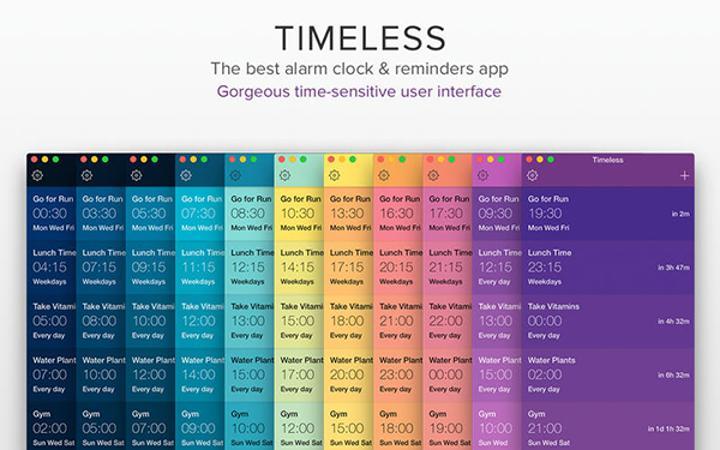 Mac platformuna yeni bir uygulama daha: Timeless