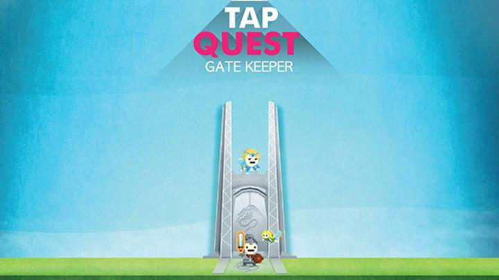 Tap Quest : Gate Keeper, Appstore'daki yerini aldı