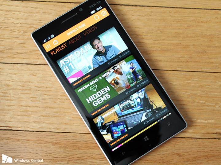 Windows Phone dünyasının yeni YouTube istemcisi: Perfect Tube