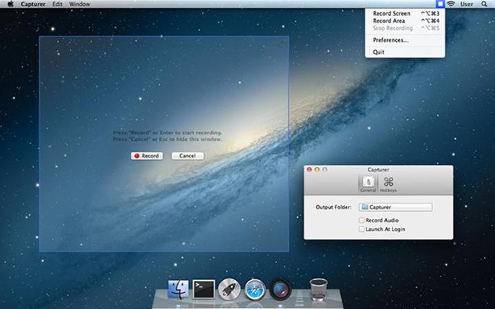 Mac için hazırlanan Capturer uygulaması artık ücretsiz