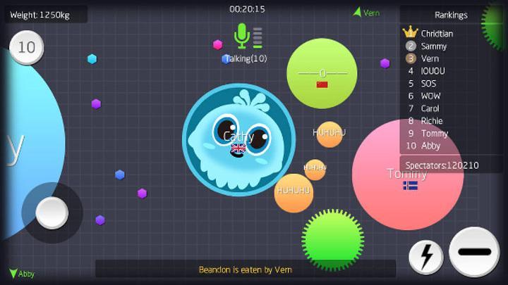Battle of Balls yeni bir top tabanlı MMORPG oyunu