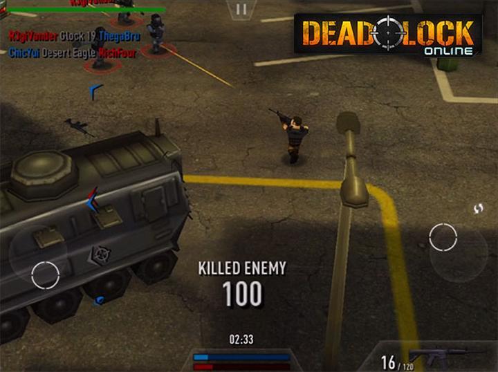 Deadlock Online uzun bir aradan sonra Android'de