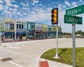 Michigan Üniversitesi, yaklaşık 32 dönüme yayılan Mcity'i kurmak için bölgedeki hükümet birimlerinden ve araba üreticilerinden destek aldı.