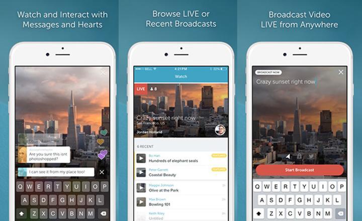 iOS için Periscope güncellendi, önemli özellikler eklendi
