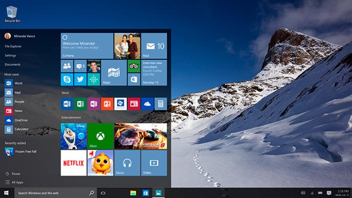 Windows 10 imaj dosyaları indirmeye sunuldu