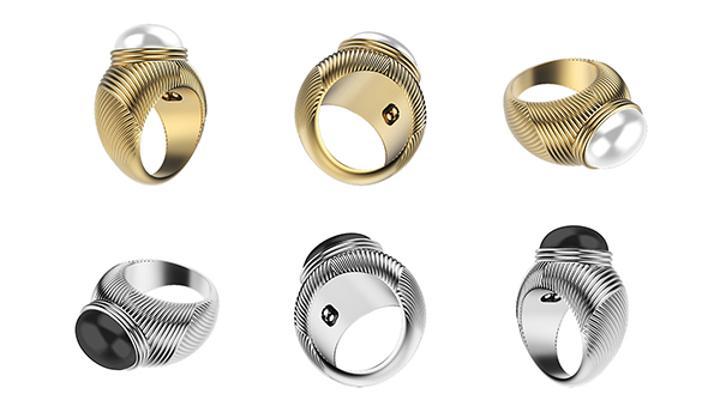 Akıllı telefonlarla çalışan titreşimli yüzük modeli: Omate Ungaro Ring