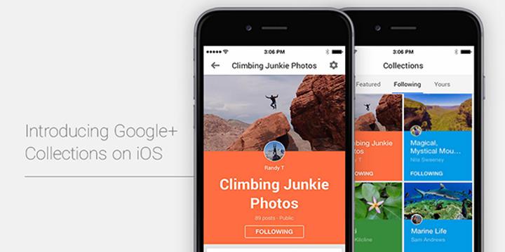 Google+'ın iOS sürümüne