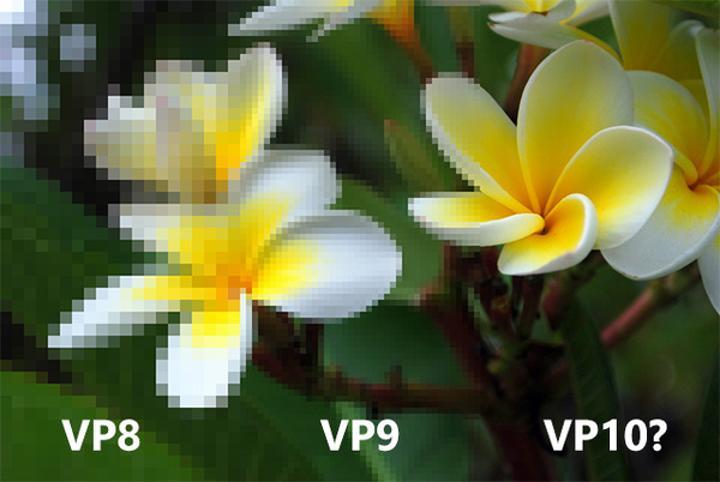 Google yüksek çözünürlüklü videolar için yeni VP10 kodeğini geliştiriyor