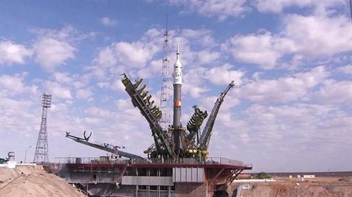 NASA ISS'e gönderilen Soyuz'un fırlatılış videosunu yayınladı