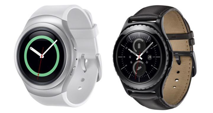 Dönebilir çerçeveli Samsung Gear S2 akıllı saat lanse edildi