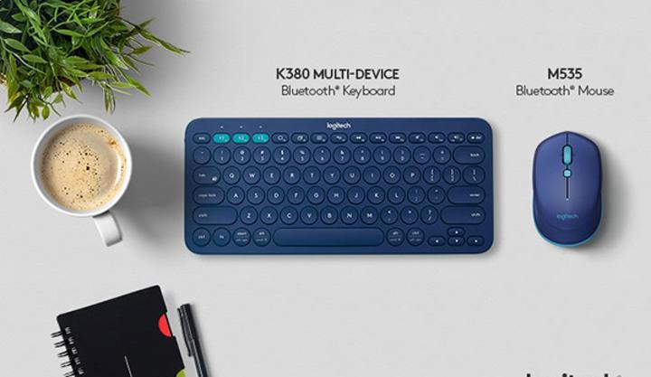 Logitech, yeni geliştirdiği Bluetooth klavye ve faresini tanıttı