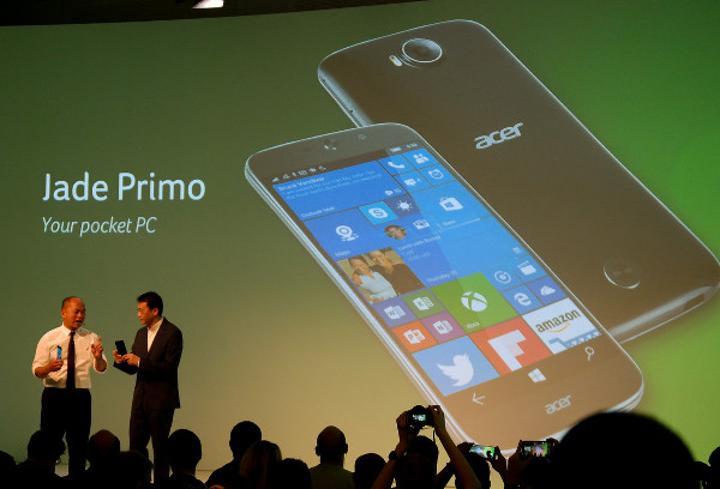 IFA 2015 : Acer Jade Primo sektörün ilk Continuum destekli akıllı telefonu oldu