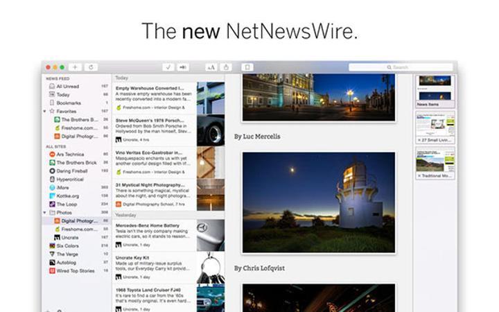 Haber üzerine kurulu yeni iOS ve Mac uygulaması: NetNewsWire