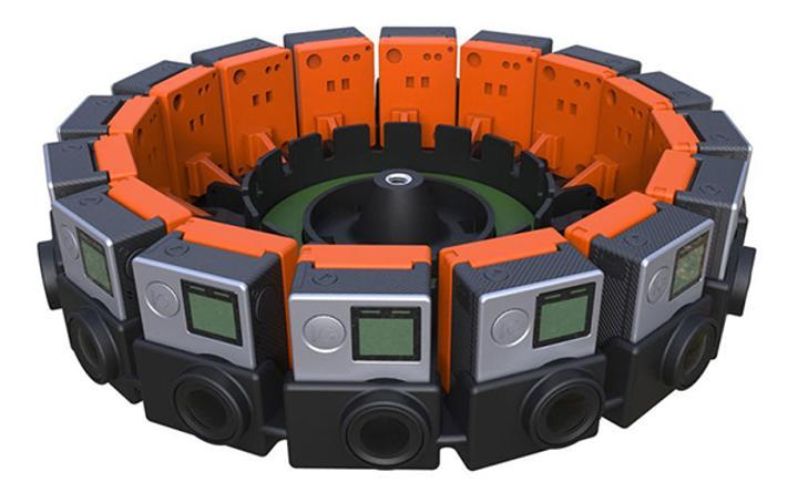 GoPro, 16 adet HERO 4 Black üzerine kurulan 360 derecelik kamera sistemi Odyssey'yi duyurdu