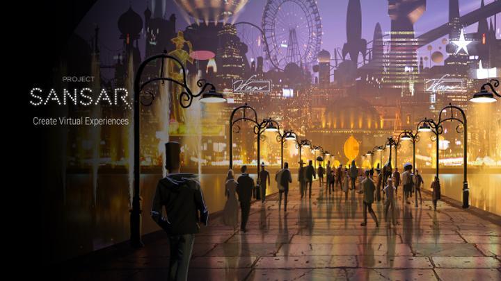 Project Sansar çevrimiçi oyunları sanal gerçeklik ile süsleyecek