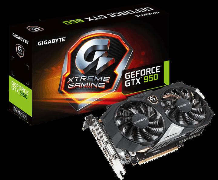 Gigabyte GeForce GTX 950 Xtreme Gaming duyuruldu