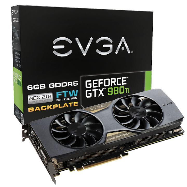 EVGA'dan hız odaklı GeForce GTX 980 Ti FTW