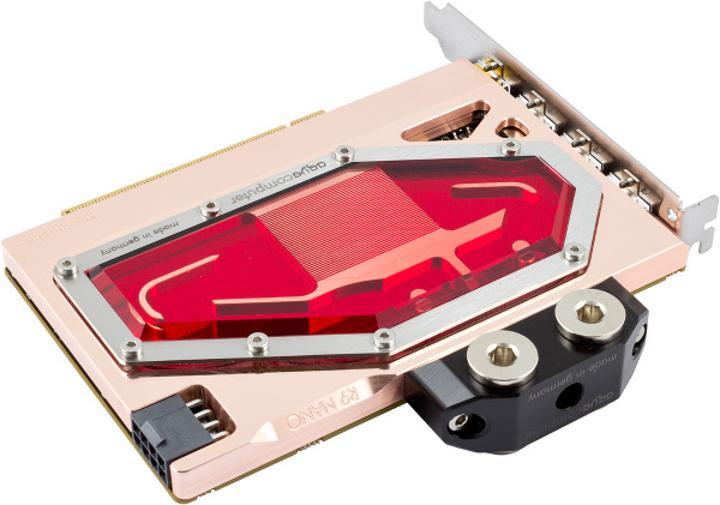 AMD Radeon R9 Nano için ilk su bloğu tanıtıldı