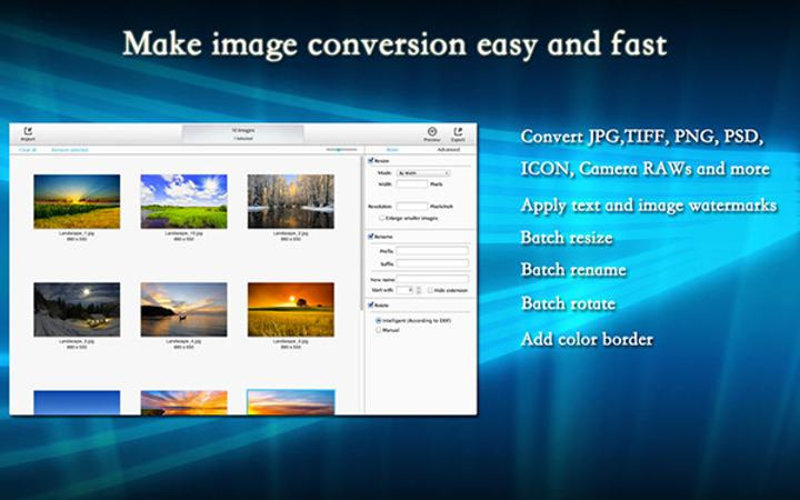 Toplu fotoğraf işlemeye odaklanan BatchProcessing artık ücretsiz