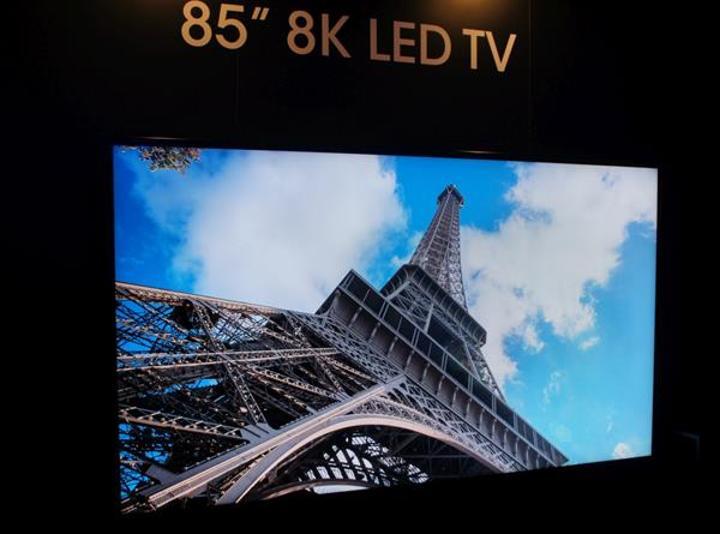 Sharp 8K televizyonunu 133 bin dolar fiyatla satışa sunmaya hazırlanıyor