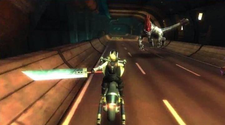 Final Fantasy VII G-Bike sonsuz koşu oyunu iptal edildi