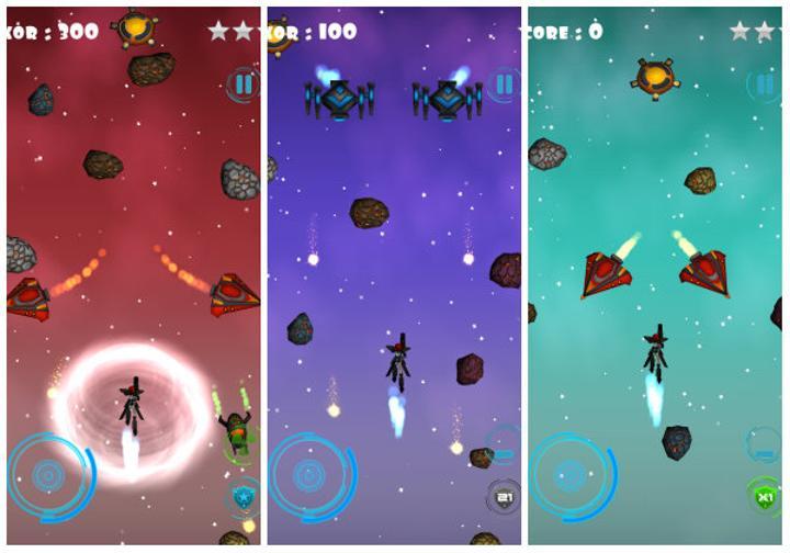 Space Cherry yeni bir Türk yapımı sonsuz koşu oyunu