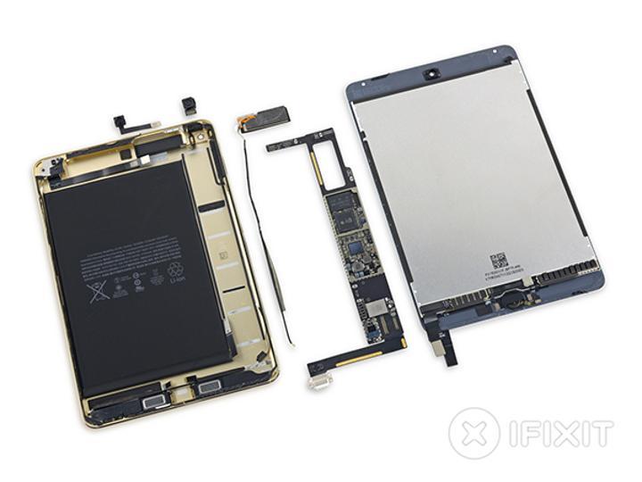 iFixit'in yeni kurbanı Apple iPad Mini 4 oldu