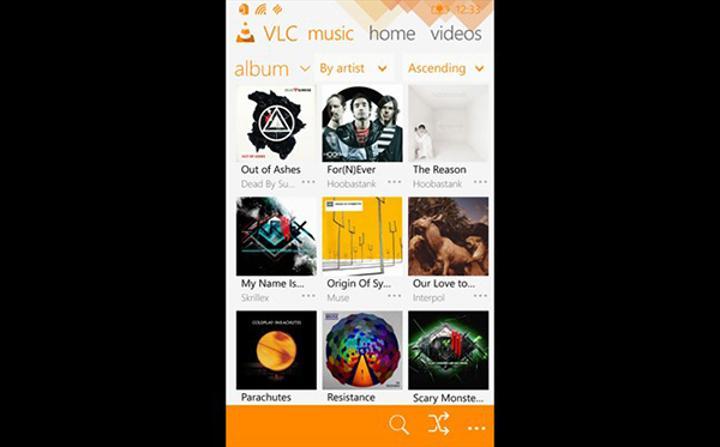 Windows Phone için VLC,