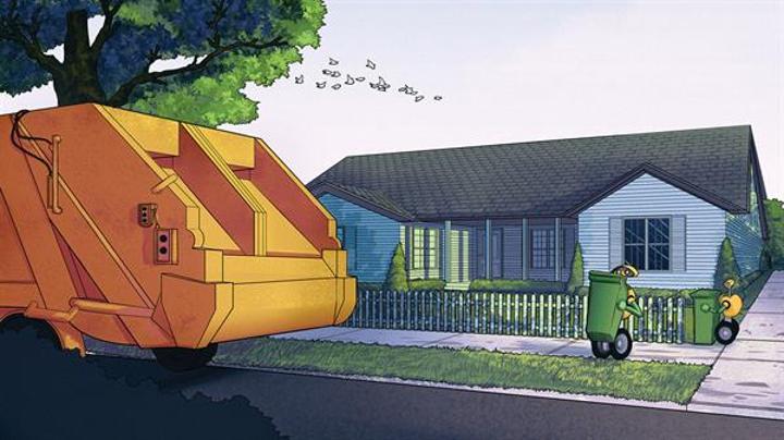 Volvo, çöpleri robotların toplamasını istiyor