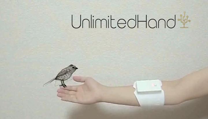 Sanal objelere dokunmayı sağlayan oyun kontrolcüsü: UnlimitedHand