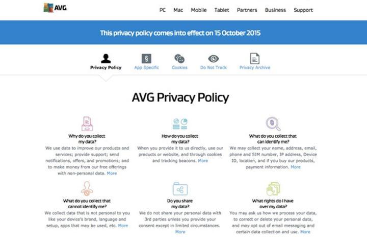 AVG özel verilerinizi satmaya hazırlanıyor