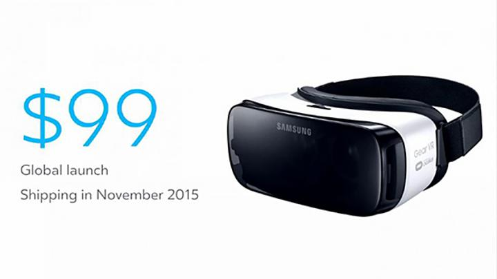 Yeni Samsung Gear VR duyuruldu
