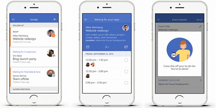 Microsoft'dan yeni iOS uygulaması: Invite