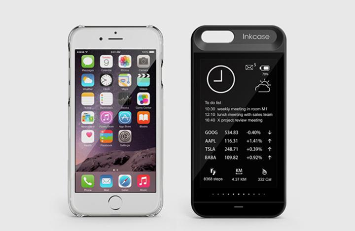 iPhone 6 ve iPhone 6S'e ekran takviyesi: InkCase i6