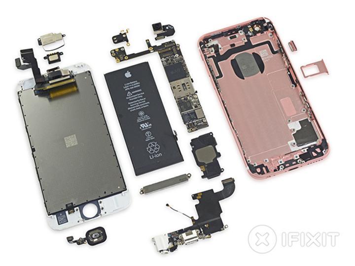 iFixit, Apple iPhone 6s'in içini gözler önüne serdi
