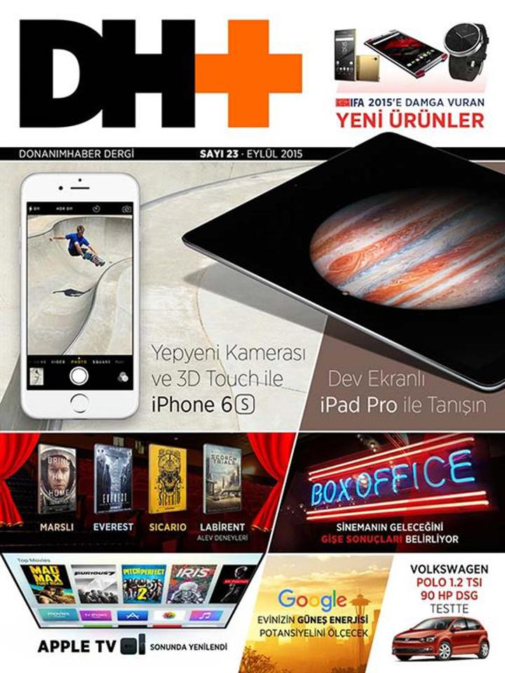 DH+ Eylül Sayısı Yayınlandı
