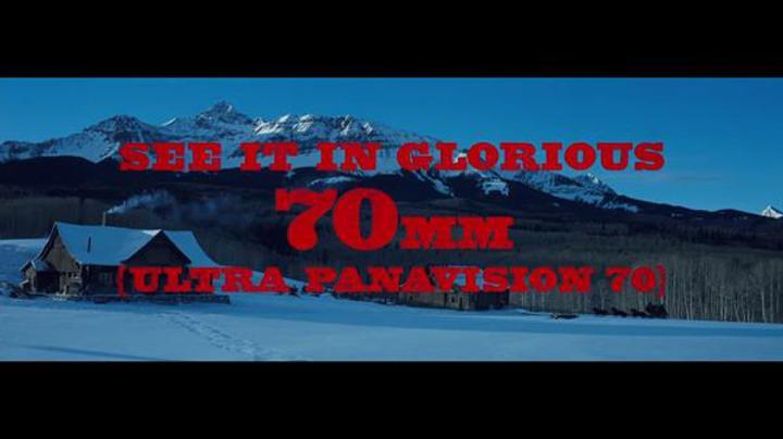 Tarantino neden 70mm'yi dijitale tercih ettiğini açıkladı