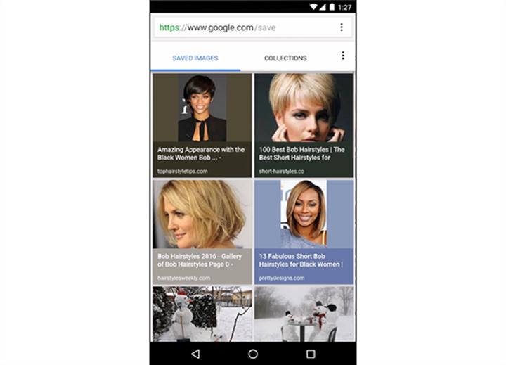 Google'daki görsel aramalarınızı kaydedin